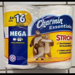 CHARMIN Essentials Strong Mega Rolls 4=16 Rolls